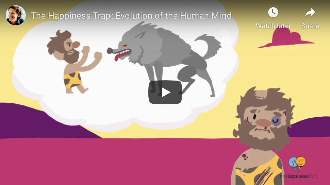 The Happiness Trap: Evaluation of the Human Mind – Dr Russ Harris